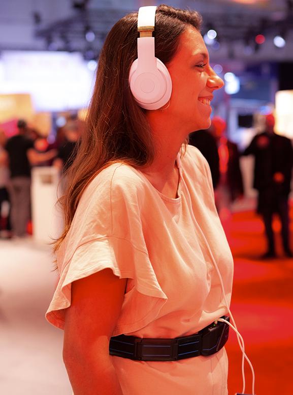 Feelbelt revolutioniert das Hörerlebenis