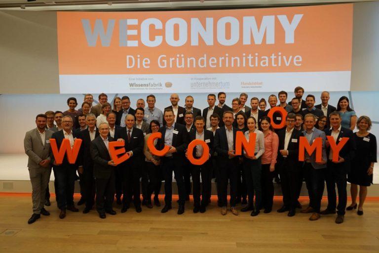 WECONOMY 2020: die innovativsten Technologie-Start-ups Deutschlands mit mindestens einer Frau im Team