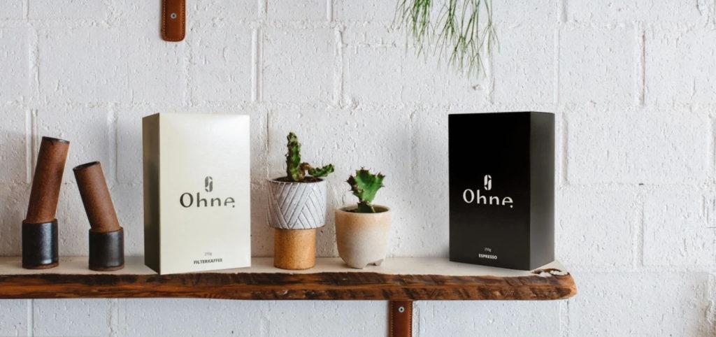 OHNE Coffee – voller Geschmack ohne Gedöns, ohne Schnickschnack, ohne Koffein