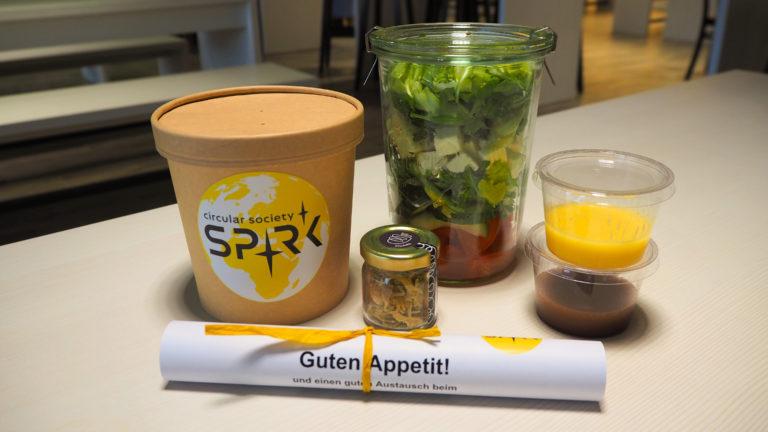 Start-up SPRK schließt Partnerschaft mit Optimahl und Berlin Partner für nachhaltiges Catering in Berlin aus überschüssigen Lebensmitteln
