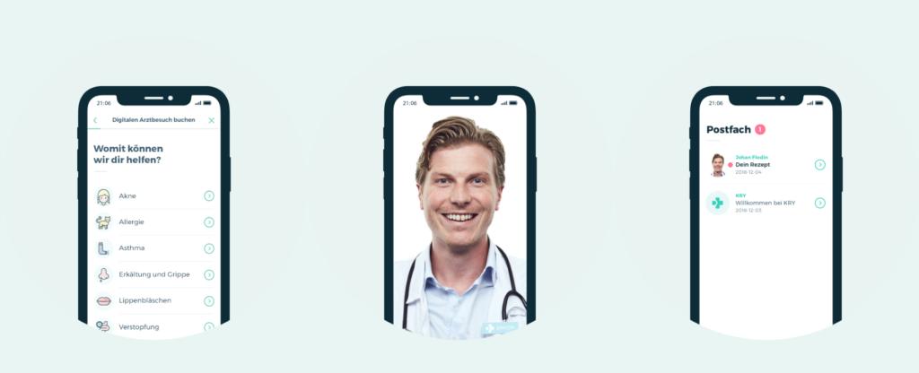 Kry – der digitale Arztbesuch